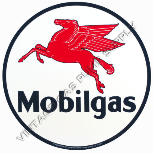 "Mobilgas 2/"" Vinyl Decal DC125D"