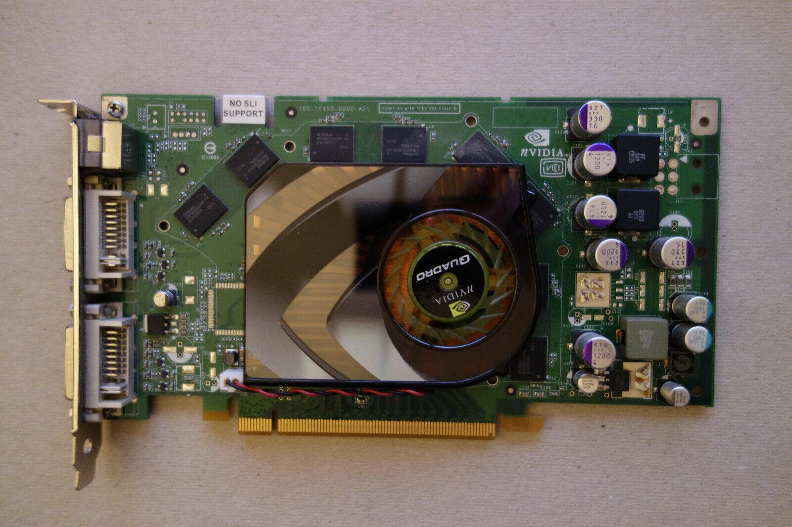 PNY NVIDIA Quadro FX 1500 256MB DDR3 Graphics Card PCI