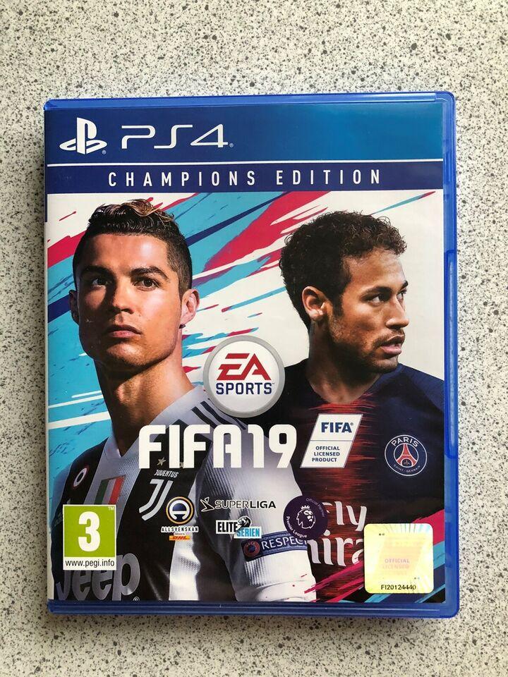Fifa19, PS4, sport