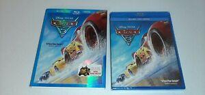 Nuevo-Sellado-Walt-Disney-Pixar-Cars-3-Blu-ray-Dvd-Digital-Con-Slipcover
