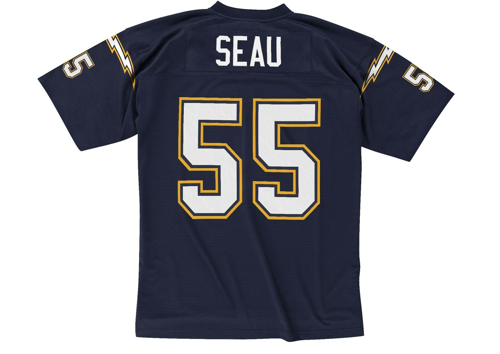 San Diego Chargers Junior Seau Jersey # 55 Authentic Adidas NFL on Field Size 52