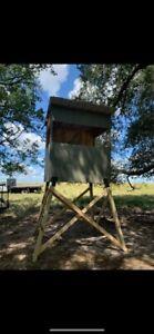 NEW WOOD Deer Turkey Hunting * All treated wood*