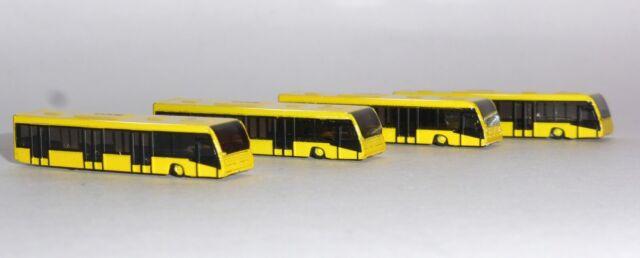 Herpa Wings 1:400 scenix Airport autobús set 4er-set 562591
