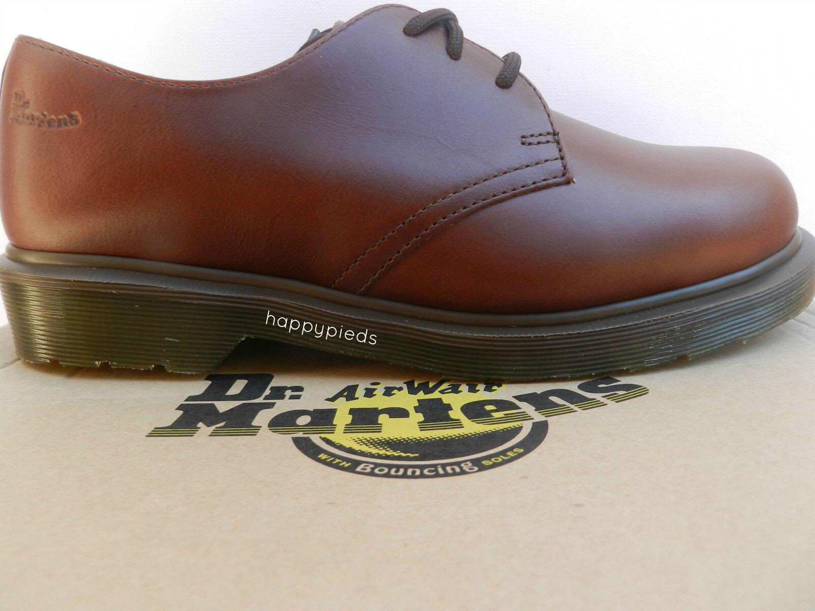 Dr Martens 1461 PW shoes 40 Analine Richelieu Derbies Mocassins UK6.5 Neuf