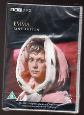 EMMA - BBC - DORAN GOODWIN, JOHN CARSON - 256 MINS - 2 DISC DVD SET - NEW SEALED