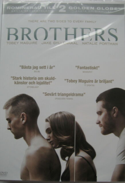 Brothers (DVD, 2010) NEW SEALED (Nordic Packaging) Region 2 PAL