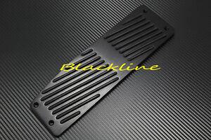 Details about BLK BMW Aluminum Dead Footrest Pedal E46 M3 E90 E92 E81 E87  E88 335 325 135 120