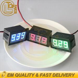 Waterproof-Monitor-12V-Battery-Meter-2-5-30V-DC-Auto-Gauge-Digital-Voltmeter-LED