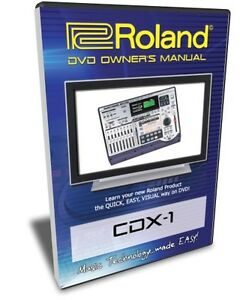 Roland cdx-1 disclab user manual by hong lee issuu.