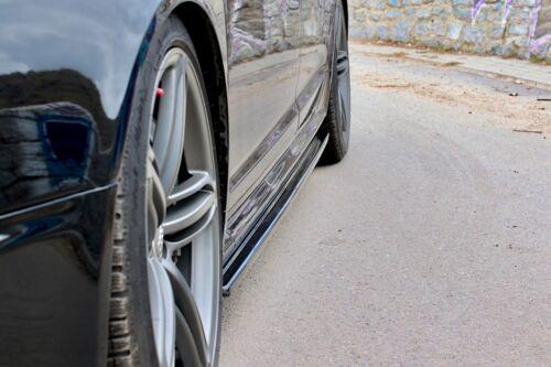 CUP Seitenschweller Ansätze für Audi RS6 4F C6 Side Skirts Schweller Leisten