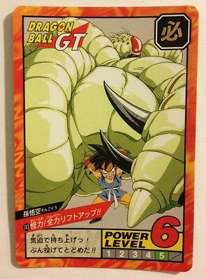 Entusiasta Dragon Ball Gt Super Battle Power Level 743 Piacevole Al Palato