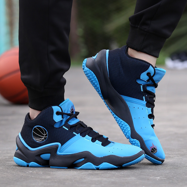 Mens Fashion Basketball Sneaker High Top Ankle Boot Sport Outdoor Casual shoes