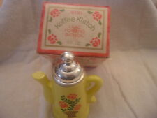 Vintage AVON Koffee Klatch empty bottle had Lilac Foaming Bath Oil original box