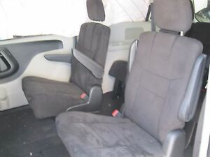 13 dodge grand caravan front second middle row rear bucket seats cloth black ebay. Black Bedroom Furniture Sets. Home Design Ideas