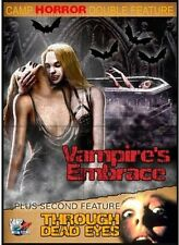 Camp Horror Double Feature: Vampire's Embrace/Through Dead Eyes (DVD, 2008)