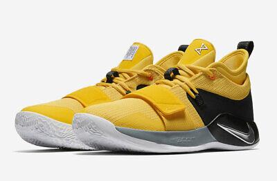 best sneakers b648b a3527 2018 Nike PG 2.5 Bruce Lee SZ 12 Paul George Amarillo Chrome Black  BQ8452-700 | eBay