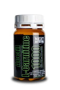 Acetil-L-Carnitina-1000-mg-X-cpr-Dieta-Dimagrire-Brucia-Grassi-n-60-compresse
