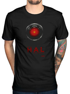 Official-2001-Space-Odyssey-Hal-9000-Hal-T-Shirt-David-Bowerman-Moon-Watcher