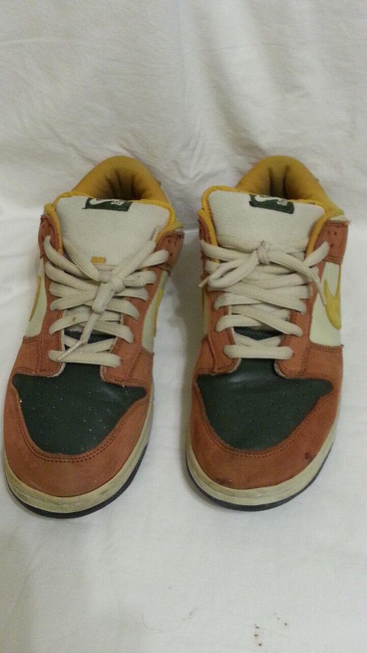 Nike SB Dunk Low Sz 12 12 12 Vapor Mineral Yellow Brown Nightshade 304292-271 4ef856