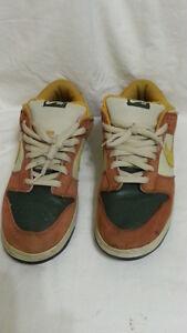 85e9162d73 Nike SB Dunk Low Sz 12 Vapor Mineral Yellow Brown Nightshade 304292 ...