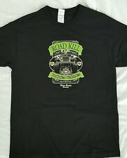Road Kill Cafe T-Shirt Large You Kill Em We Grill Em Nova Scotia Canada Black
