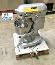 New 10 Quart Mixer Machine Speed Commercial Bakery Kitchen Equipment Nsf