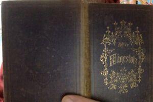 Adalbert-Stifter-Der-Hagestolz-1852-Erstausgabe