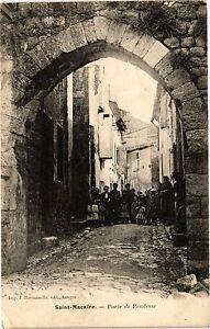 CPA St-MACAIRE - Porte de rendesse (192835)