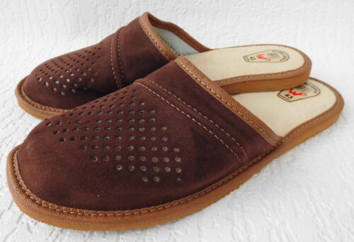 36 4 Chaussons Chaussons 2 Gr Cuir Véritablepl Suede 43 24 Chaussons Xn0OP8wk