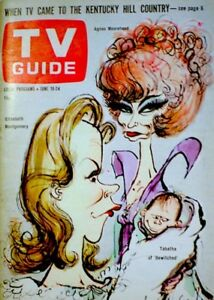 TV-Guide-1966-Bewitched-Elizabeth-Montgomery-Moorehead-Tabatha-Searle-EX-NM-COA