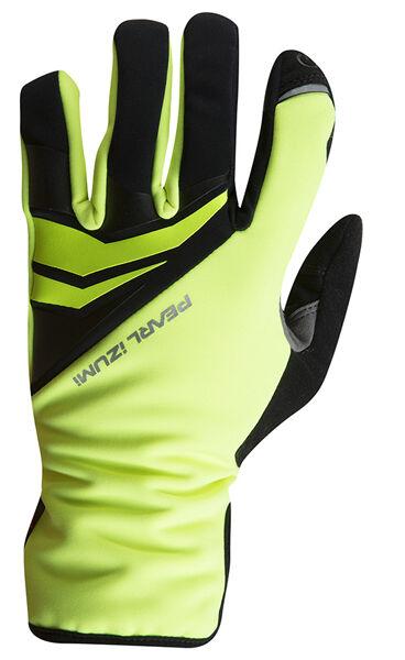 Pearl Izumi 2018 Elite Softshell Gel Winter Bike Gloves Screaming Gelb - XL