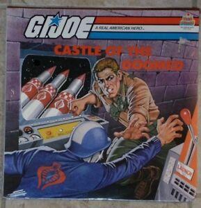 Gi Joe Château De The Loomed LP Album Vinyle Record 33 Gi Joe Castle Of The Doomed Lp Vinyl Album Record 33