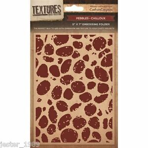 """CRAFTERS COMPANION TEXTURES Embossing Folder PARQUET Emboss 5/"""" x 7/"""""""