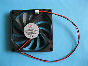 1-pcs-Brushless-DC-Cooling-Fan-24V-8010S-11-Blade-80x80x10mm-Sleeve-bearing-2pin