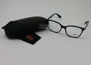 0f836d927fa New Ray Ban Eyeglasses RB 7066-5584 Navy Acetate 54 17 145 Authentic ...