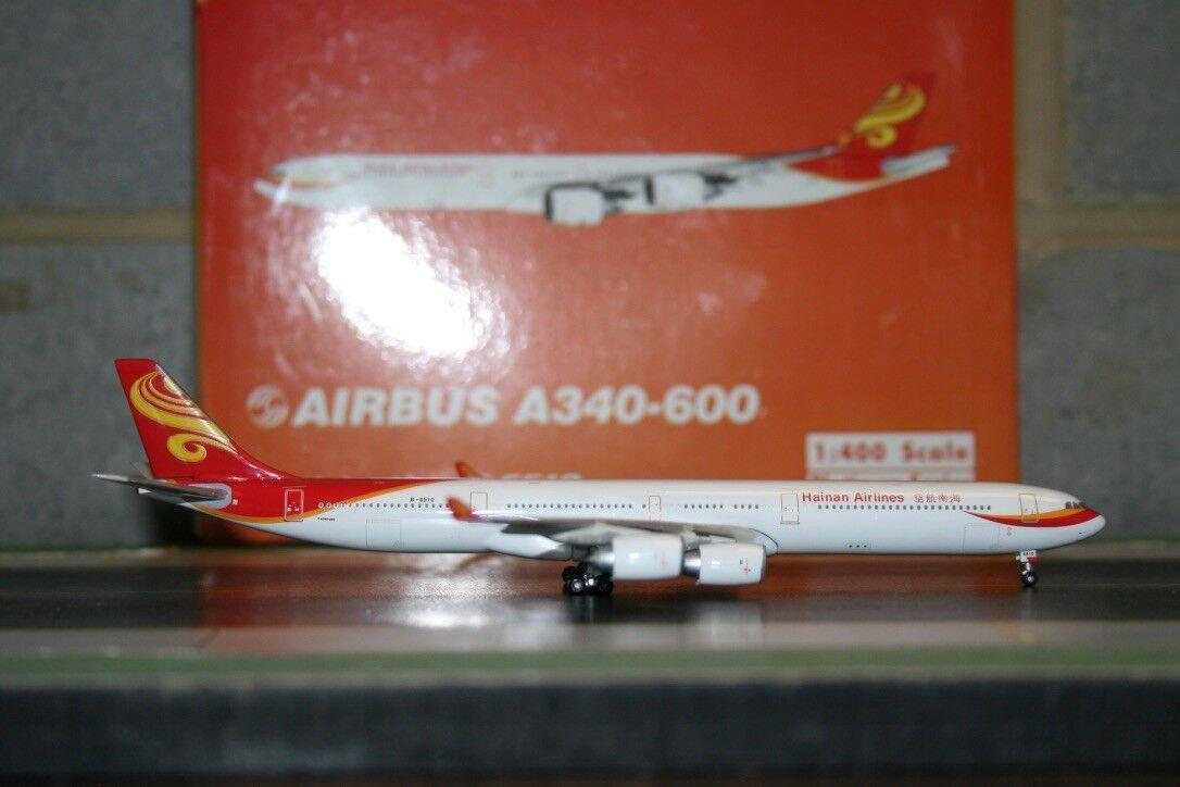 Phoenix 1 400 hainan airlines airbus a340 - 600 b-6510 (ph10286) druckguss - modell