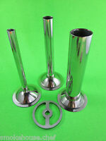 Sausage Stuffer Accessory Set For Size 8 Meat Grinder Tubes And Stuffing Plate