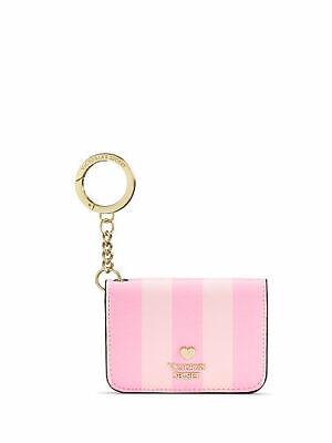 Victoria/'s Secret Laser Cut Keychain Coin Bag Hold 4 ID//Credit Card NWT