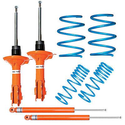 Koni Orange STR.T Stoßdämpfer Set VA+HA für Audi 80 B4 8C