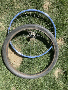 "Schwinn Stingray s-7 Wheel And Tire 20"" Original"