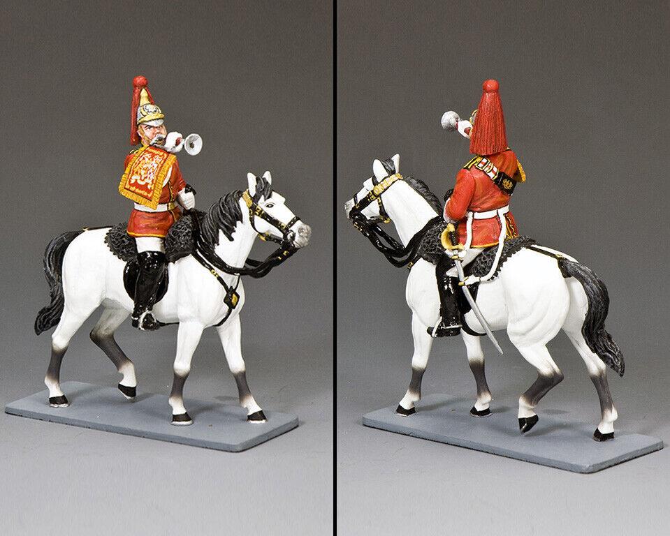 King & Country Zeremoniel CE040 Britisch Life Wachen Trumpeter MIB