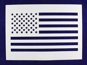 mylar 14 mil large us flag stencil straight painting crafts