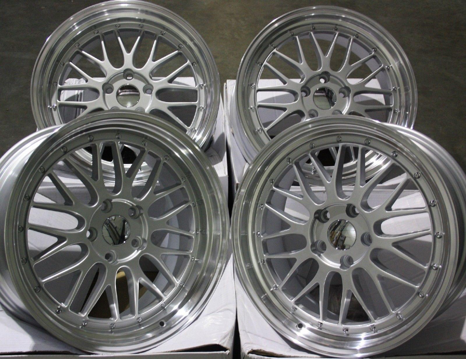 17   silver Lm Mesh Alufelgen für Opel Astra Corsa Vectra Zafira