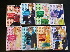MANGA : lot de 8 mangas - L'AMOUR A TOUT PRIX - Minami Kanan - VF