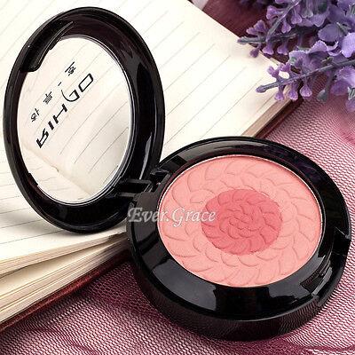 2 Colors Cosmetics Face Contour Blush Blusher Makeup Palette Soft Pressed Powder