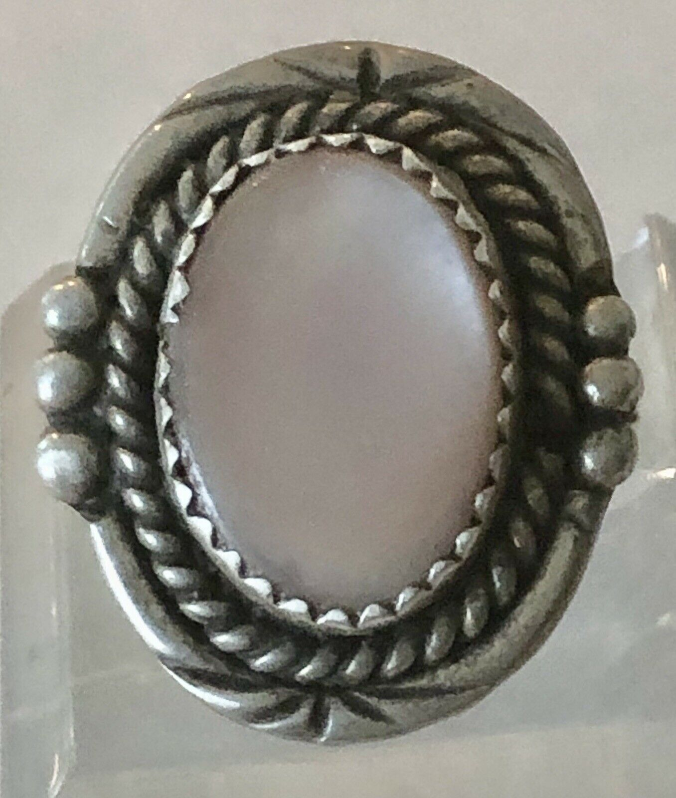 Early Coro Sterling Silver Circular w Cultured Pearl 1920/'s