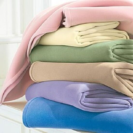 1 New Super Soft West Point Stevens Vellux Blanket Warm Soft Hotel Luxury