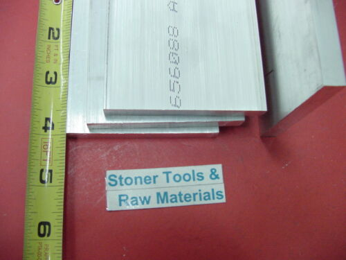 """28 pieces 1//4/"""" X 3/"""" ALUMINUM 6061 FLAT BAR 4/"""" long T6511 SOLID Plate Mill Stock"""