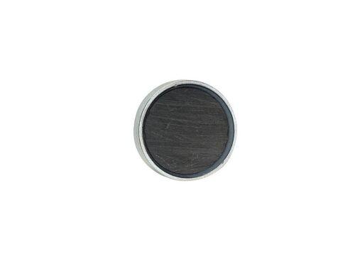 Flachgreifer Topfmagnet Hartferrit Gewindebuchse verzinkt Ø 10mm Ø 125mm