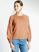 Marks and Spencer Modal Lace Insert Shell Top Blush Size 14 BNWT